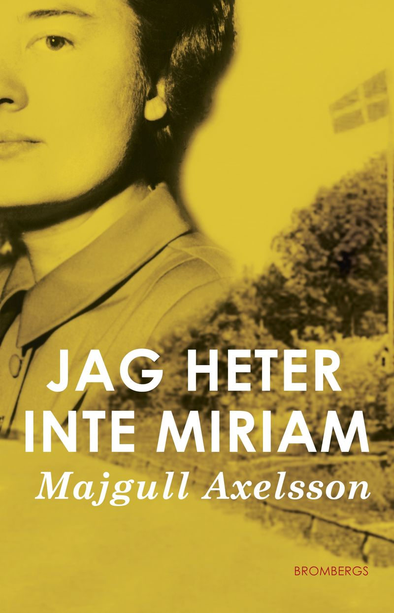 Bok - Jag heter inte Miriam.